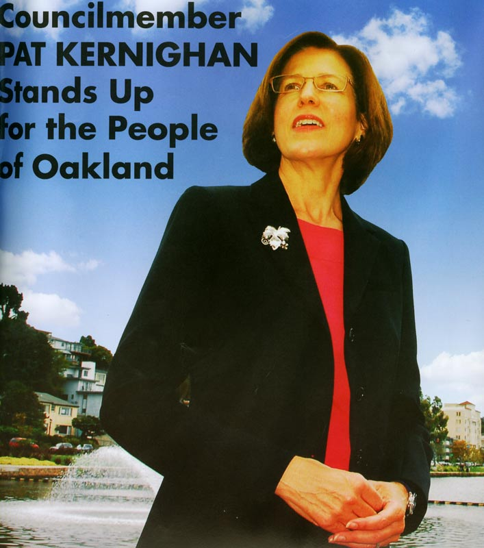 The Oakland Home Of Patrick Printy: Oakland Political Mailers And Me : The Online Home Of